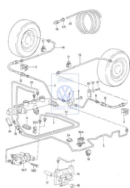 Conduite de frein (1400mm)