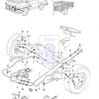 Conduite de frein (1500mm)
