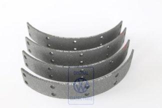 Kit garnitures de mâchoires GolfMk1 / VW1200