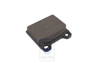 1kit of brake pads disc brake