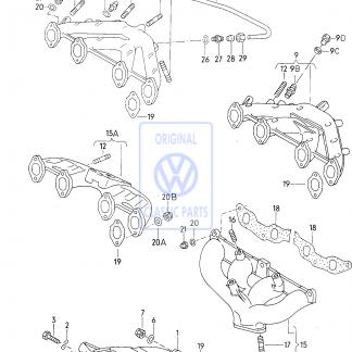 Collecteur pour VW Caddy