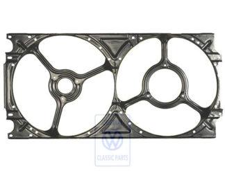 Double anneau de ventilateur